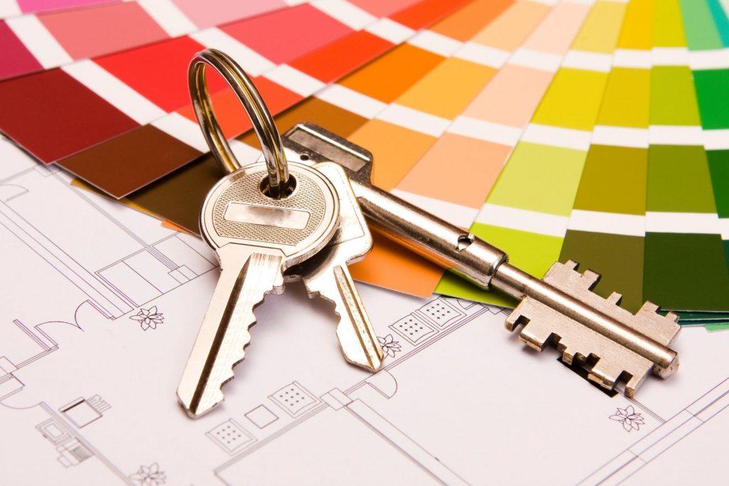 Huis kopen kleurenwaaier